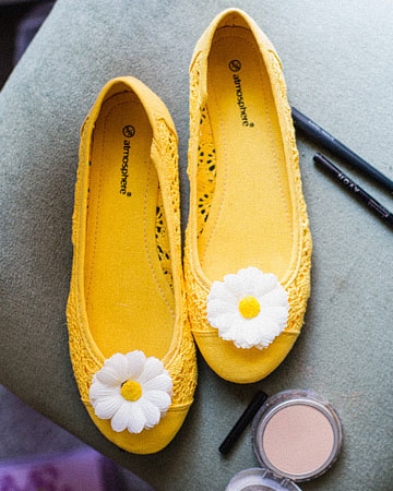 344a65064022 Yellow Bridal Wedding Shoes