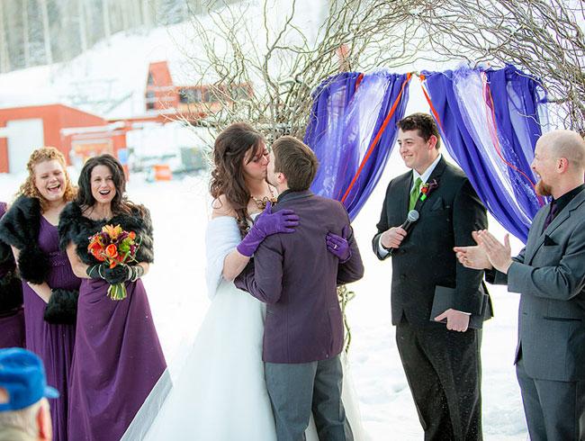 Real Weddings Winter: Real Wedding , Winter Wedding