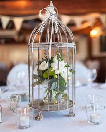 birdcage wedding centerpieces. Black Bedroom Furniture Sets. Home Design Ideas