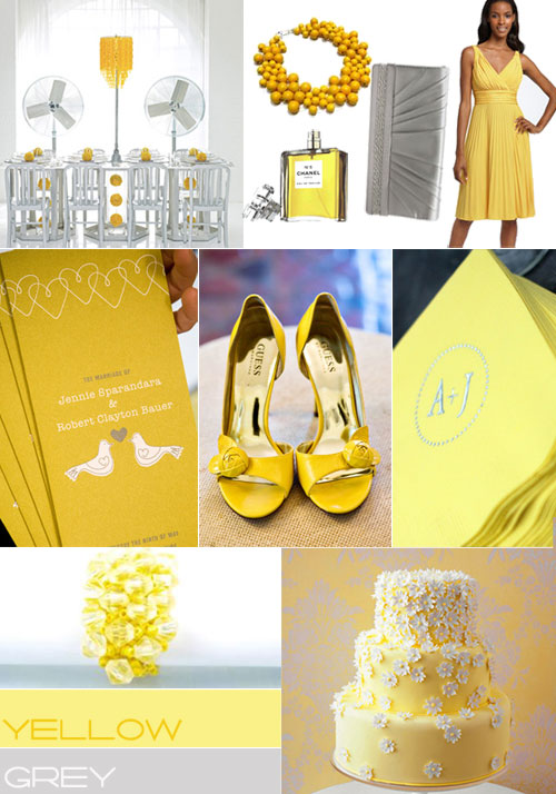 Yellow Wedding Centerpieces Ideas