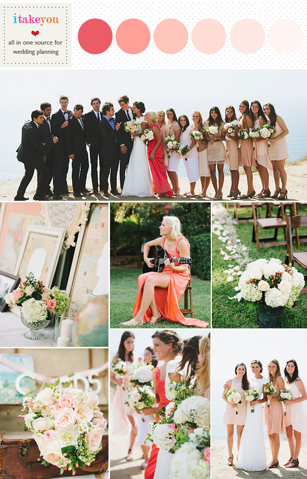 coral peach wedding colors,coral peach wedding colors palette,coral peach wedding colors scheme,coral peach wedding theme,coral wedding color,peach wedding color,coral peach wedding colours