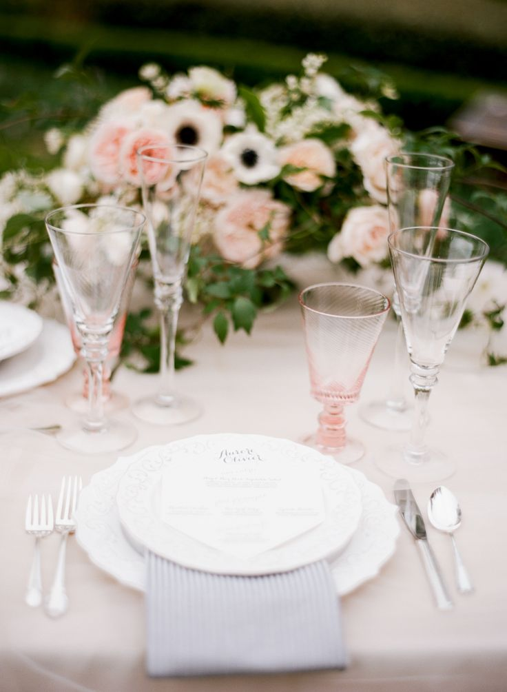 Blush wedding tablescapes for reception,wedding reception table ideas