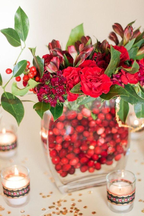 Red Winter Wedding Colourred Winter Wedding Ideas