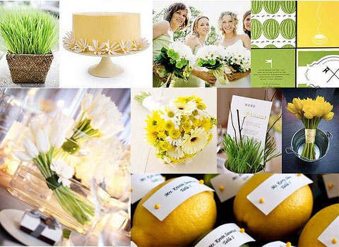 looking for summer wedding ideas?a beautiful colour combinations green and yellow summer wedding colours palette for spring wedding and summer wedding