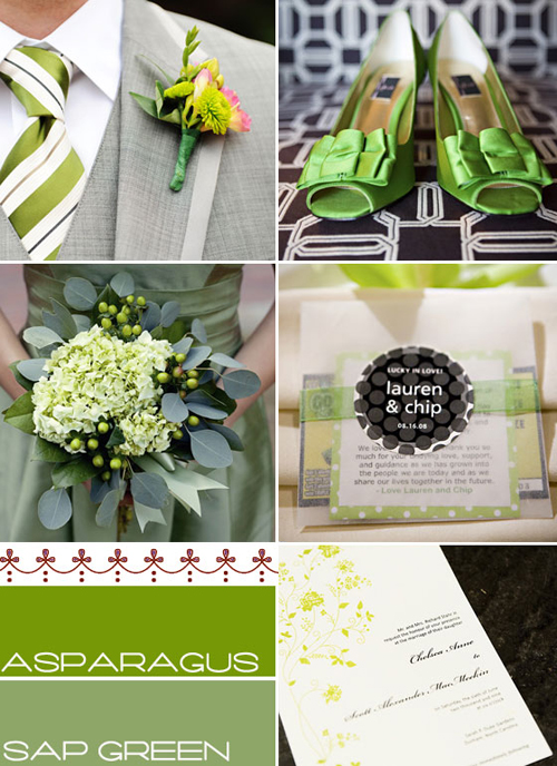 summer wedding ideas,green apple wedding theme,green wedding table decorations ideas,green apple wedding themed favors,wedding colour palette