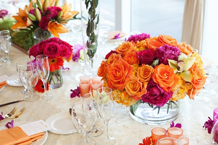 Summer wedding centerpieces ideas 1 i take you wedding summer wedding centerpieces ideas junglespirit Gallery