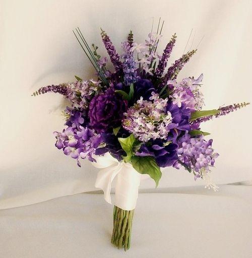 Winter Wedding Flowers Uk: Purple Winter Wedding Colour Palette {purple Orange Green