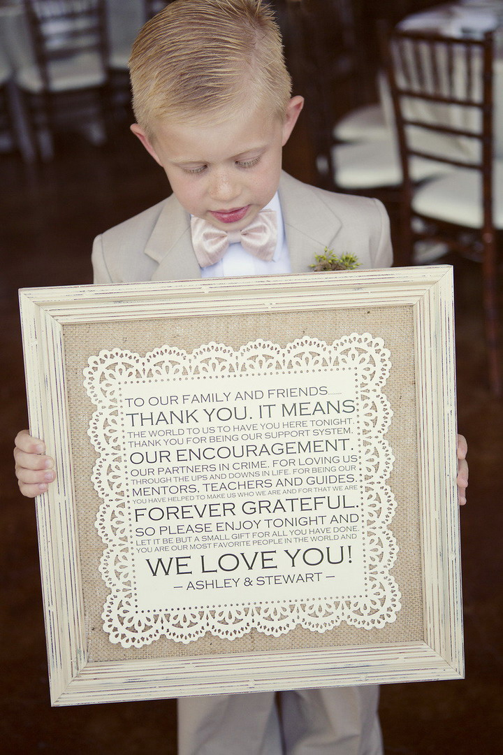 Page boy in taupe suit | itakeyou.co.uk #wedding