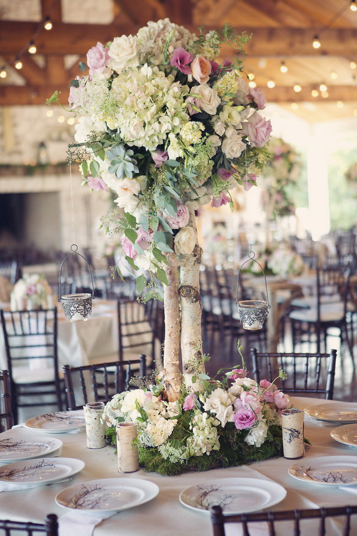 chic wedding centerpieces ideas | itakeyou.co.uk #wedding #rusticwedding #romantic