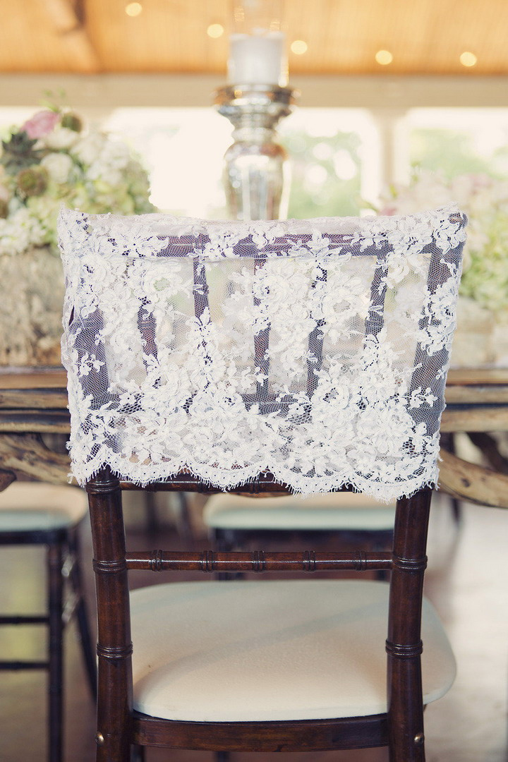 Wedding Chair cover decorations | itakeyou.co.uk #wedding #rusticwedding #romantic
