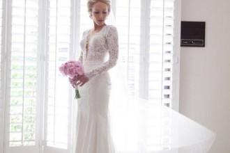 long sleeves wedding dresses, long sleeve lace wedding dresses,wedding dresses,long sleeves wedding gowns,long sleeve lace wedding gown | itakeyou.co.uk