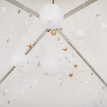 Shabby chic Wedding reception decoration