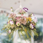 Shabby chic Wedding,birdcage display