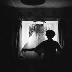 bride getting ready,Vintage Garden Party Wedding Ideas ,vintage wedding dress,retro wedding dress
