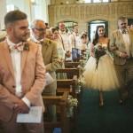 here come the bride,retro bride