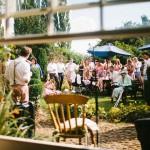 toast to bride and groom,garden wedding reception ideas