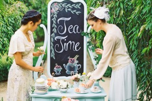 Bridesmaids Tea Party Shoot,bridesmaids photo ideas