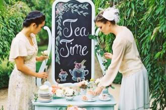 Bridesmaids Tea Party Shoot,bridesmaids photo ideas