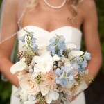 Blue wedding ideas : see more - https://www.itakeyou.co.uk/wedding/light-blue-wedding-ideas/ blue wedding bouquet