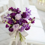 Purple Wedding - see more : https://www.itakeyou.co.uk/wedding/purple-wedding-ideas/ purple wedding ideas,purple wedding decorations,purple wedding centerpieces,purple bridesmaids,purple wedding photos