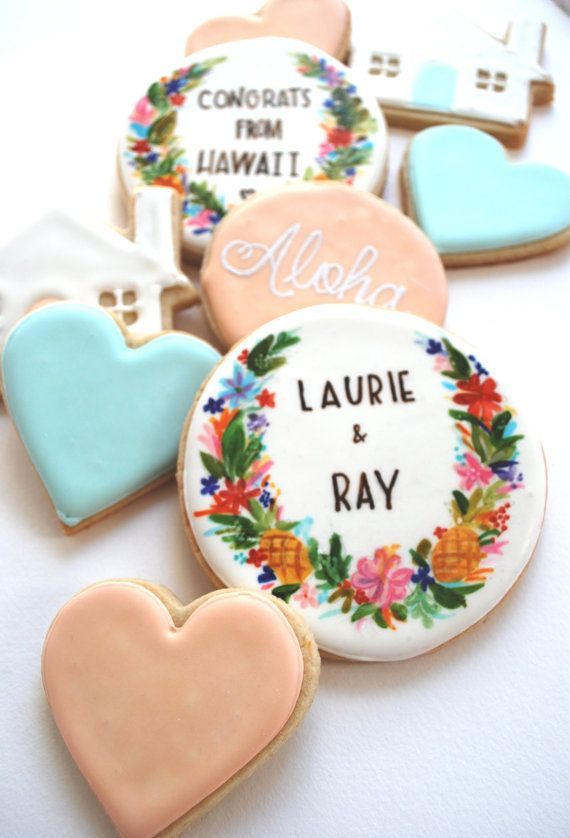 Cookie wedding favours Ideas