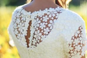wedding dresses cotton over lay | itakeyou.co.uk