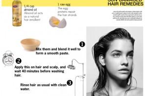 DIY easy summer hair mask,hair conditioner DIY