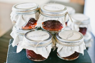 jam favors - Money saving tips for weddings on wedding favors