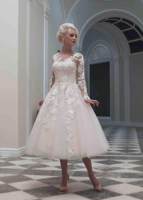 Time For Tea Length Wedding Dresses Wedding Gown