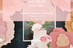 Spring Wedding Fayre and Bridal show at Mercure Albrighton Hotel and spa
