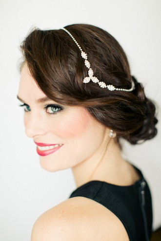 vintage wedding hair,glamorous Hollywood glamour wedding hair,bridal hairstyles