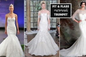 Fit and Flare - Mermaid Wedding Dresses | itakeyou.co.uk