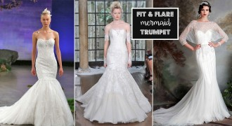Fit and Flare - Mermaid Wedding Dresses   itakeyou.co.uk