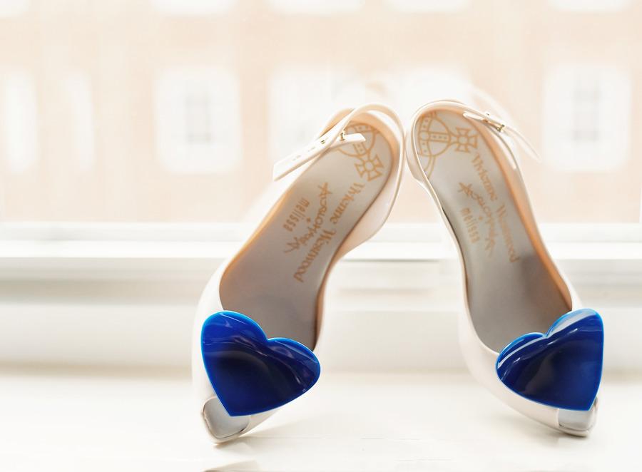 Vivienne Westwood Blue wedding shoes
