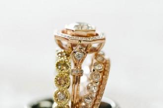 Vintage diamond engagement rings | itakeyou.co.uk