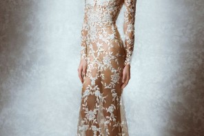 Feminine and Transparent from Zuhair Murad Fall 2015wedding dresses