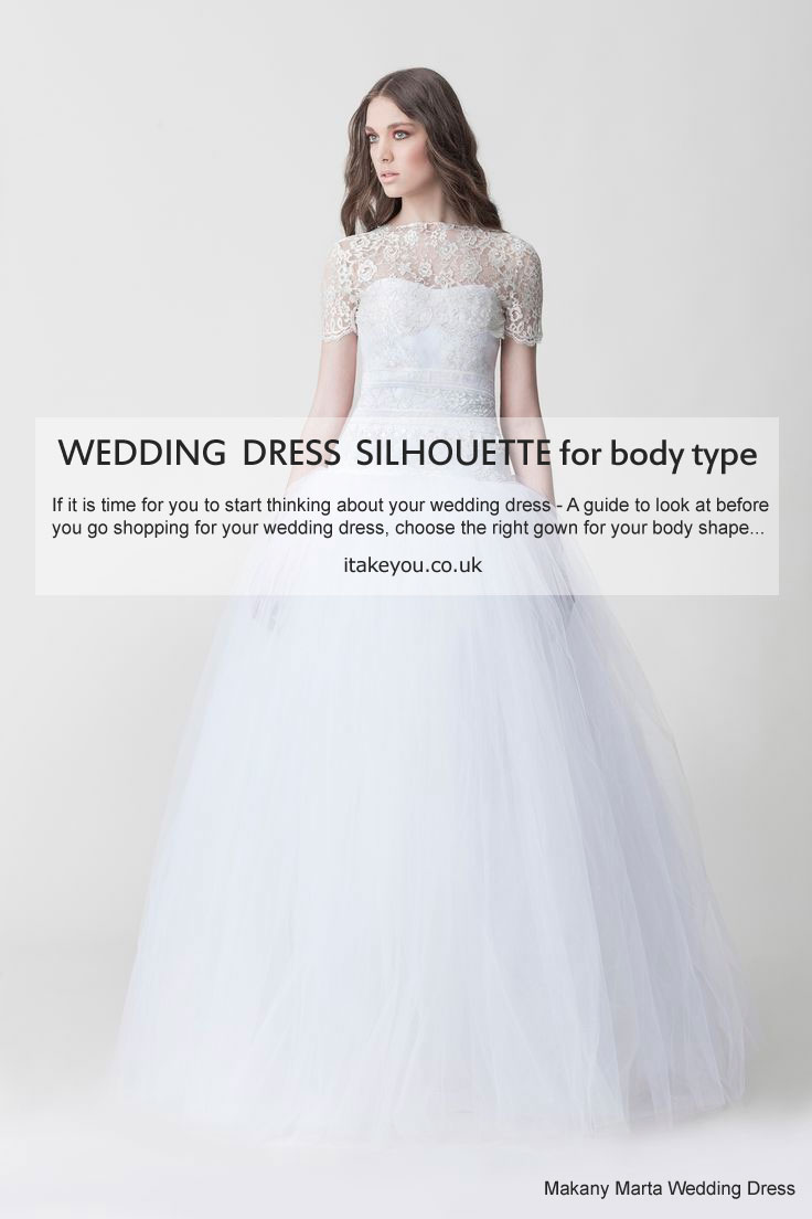Different Styles Of Wedding Dresses Silhouette