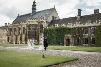A truly amazing setting for any wedding, Trinity College in Cambridge | itakeyou.co.uk
