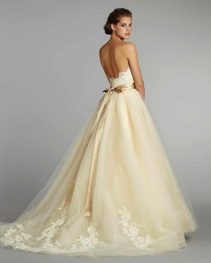 Golden Color Wedding Gowns: The Wedding Dress Color Decision,Which Wedding Dress