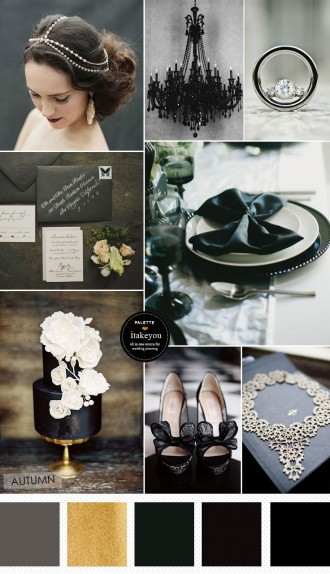 Halloween Wedding Theme - Elegance and Sophistication | itakeyou.co.uk #halloween #halloweenwedding #weddingtheme
