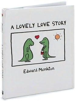 A Lovely Love Story by Edward Monkton wedding reading