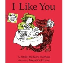 I Like You by Sandol Stoddard wedding reading for children to read non religious. I like you because If you find two four-leaf clovers You give me one If I find four I give you two