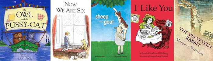 10 Wedding readings for children from Books