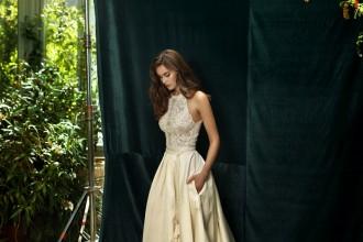 lihi hod bridal 2016 champagne wedding dress | itakeyou.co.uk