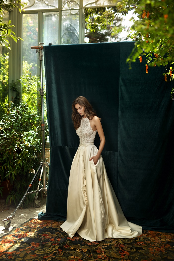 lihi hod bridal 2016 champagne wedding dress | itakeyou.co.uk