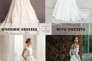 Wedding Dresses with pockets | itakeyou.co.uk
