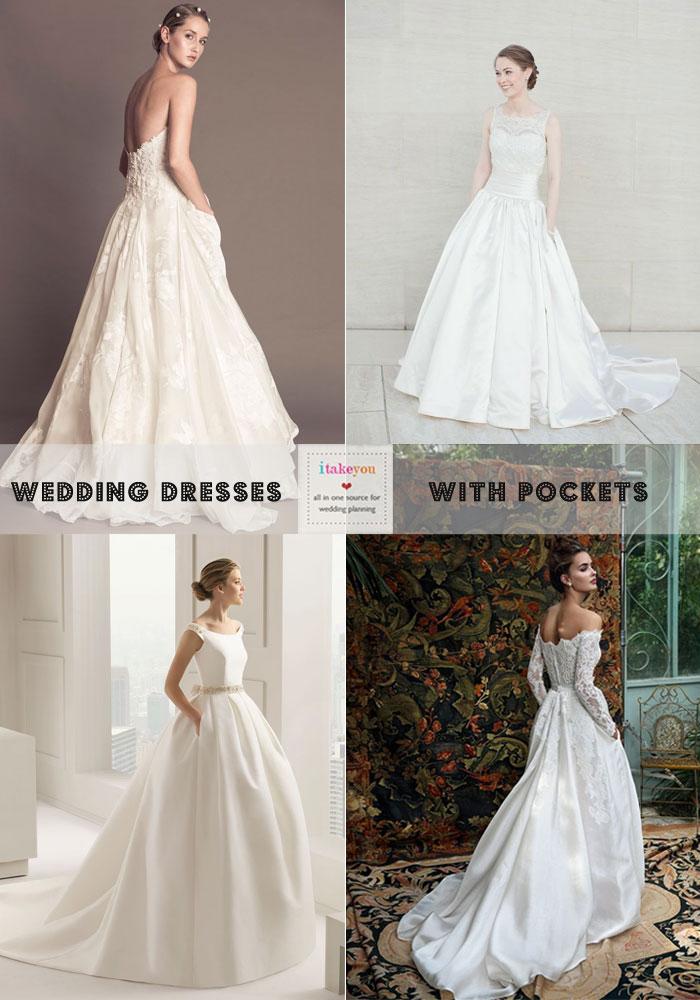 Wedding Dresses with pockets | itakeyou.co.uk