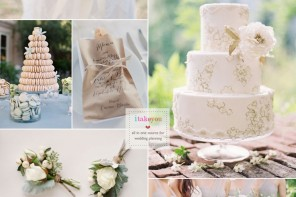 Organic #wedding inspiration - Wedding colour schemes | i take you