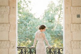 beaded wedding dress | itakeyou.co.uk