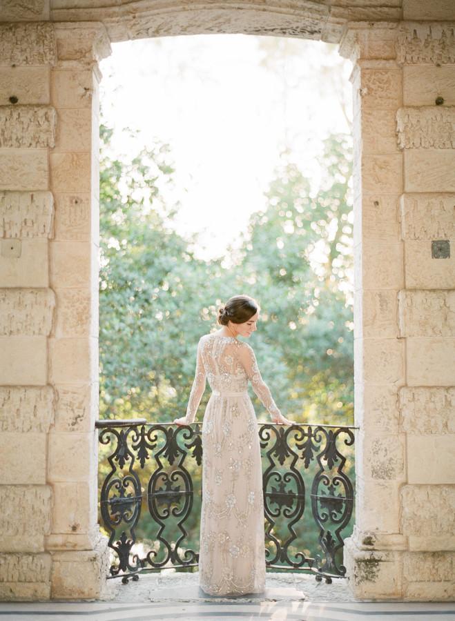 beaded wedding dress | itakeyou.co.uk